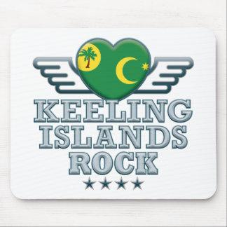 Keeling Islands Rock v2 Mouse Pad