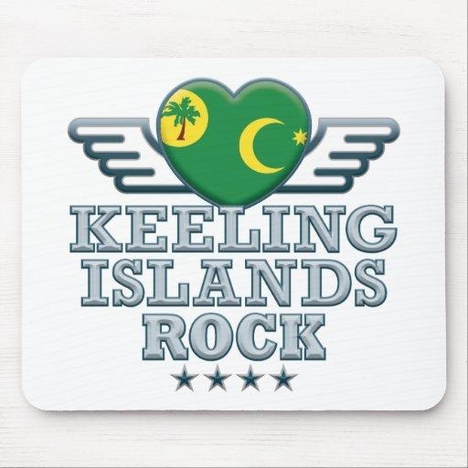 Keeling Islands Rock v2 Mousepads