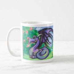 Keely : Dragonling : a Dragon Mug by Faerydae