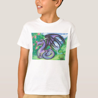 Keely : Purple Dragon Shirt