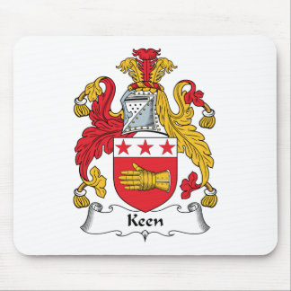 Keen Family Crest Mouse Pad