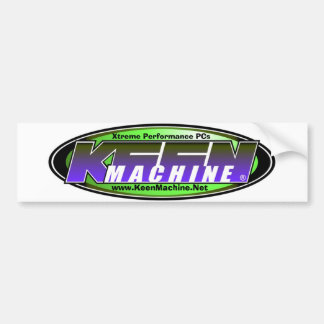 Keen Machine Bumper Sticker 1
