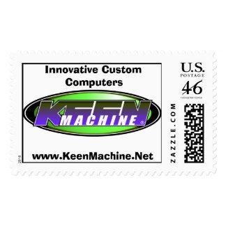 Keen Machine Net Postage Stamps