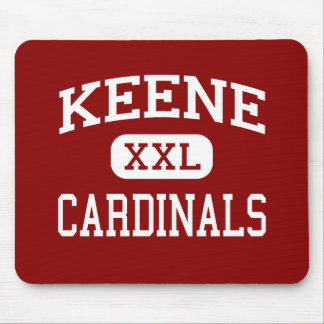 Keene - Cardinals - Middle - Keene New Hampshire Mouse Mat