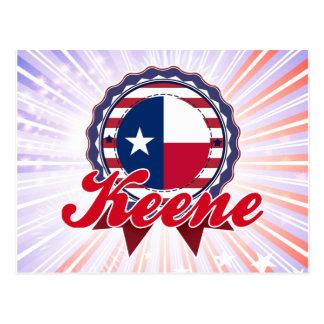 Keene, TX Postcard