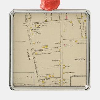 Keene, Ward 12 Metal Ornament