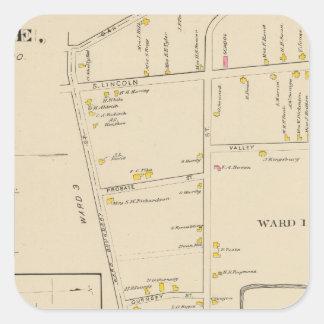 Keene, Ward 12 Square Sticker