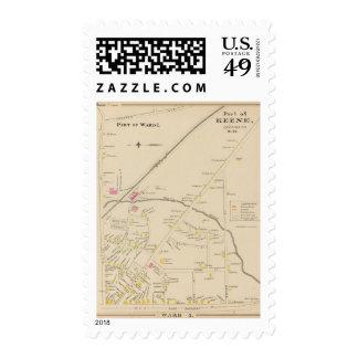 Keene, Ward 1 Postage Stamp