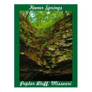 Keener Springs Poplar Bluff Missouri Post Cards