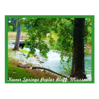 Keener Springs Poplar Bluff, Missouri Post Cards