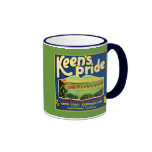Keen's Pride  Frostproof Florida Label Mugs