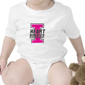 "Keep a Breast ""I love boobies"" Infant Clothing Tees"