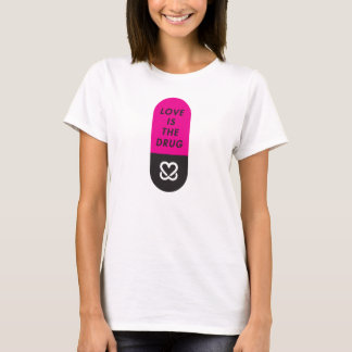 "Keep a Breast ""I love boobies"" Love Drug T-shirt"