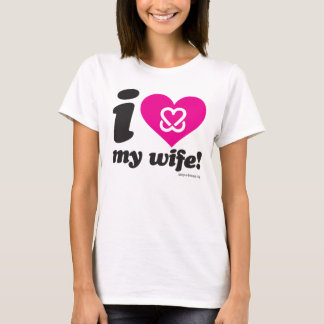 "Keep a Breast ""I love boobies"" Wife t-shirt"