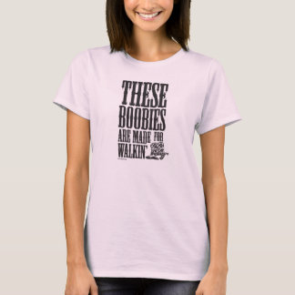 """Keep A Breast """"These Boobies Are Made For"""" T-Shirt"""