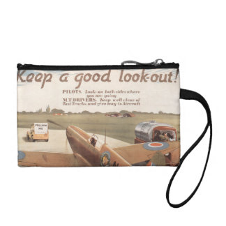 Keep a good look out coin wallet