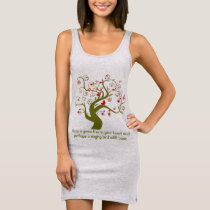 Keep A Green Tree In Your Heart Tunic T-shirt