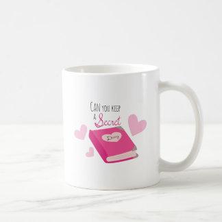 Keep a Secret Classic White Coffee Mug