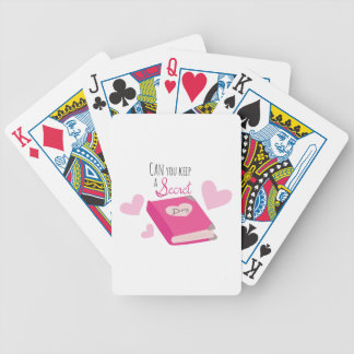 Keep a Secret Bicycle Playing Cards