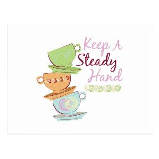 Keep A Steady Postcard