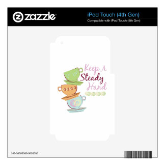 Keep A Steady Skins For iPod Touch 4G