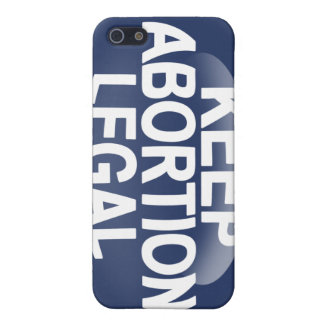 Keep Abortion Legal iPhone 5 Case
