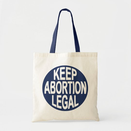 Keep Abortion Legal Tote Bag