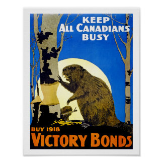 Keep All Canadians Busy Poster