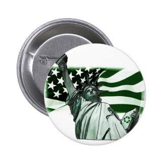 Keep America Beautiful 2 Inch Round Button