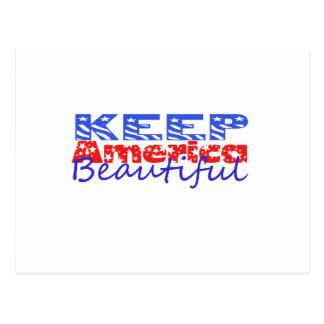 Keep America Beautiful Postcard