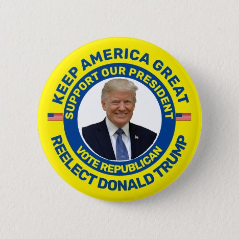 Keep America Great Button