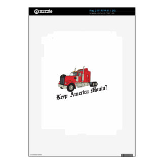 Keep America Movin! Decals For iPad 2