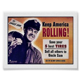 Keep America Rolling Poster