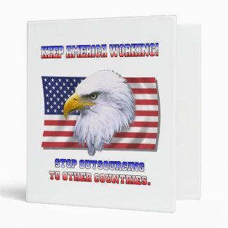 Keep America Working Binder