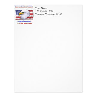 Keep America Working Personalized Letterhead