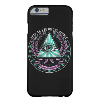 """Keep an eye ..."" Dark iPhone Case"