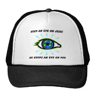 Keep an eye on Jesus christian gift Trucker Hat