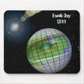 Keep An Eye on Our World Mouse Pad