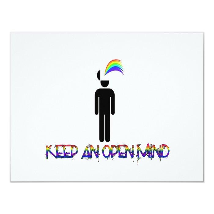 Keep an Open Mind Card