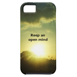 Keep An Open Mind iPhone 5 Cover