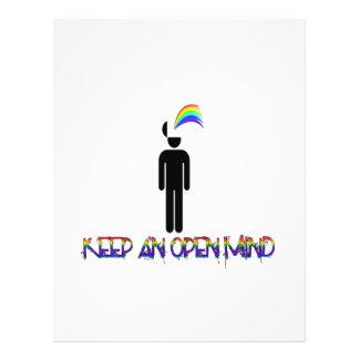 Keep an Open Mind Flyer