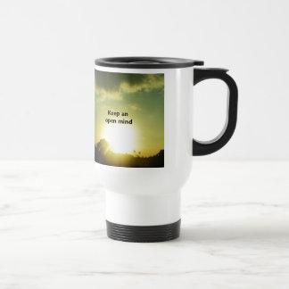 Keep An Open Mind Travel Mug
