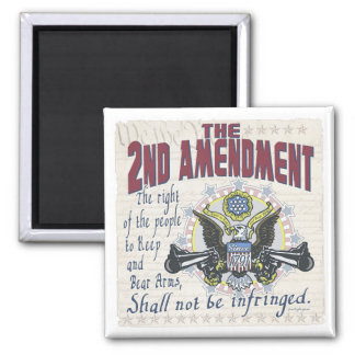 Keep and Bear Arms Gun-Toting Eagle Gear Magnet