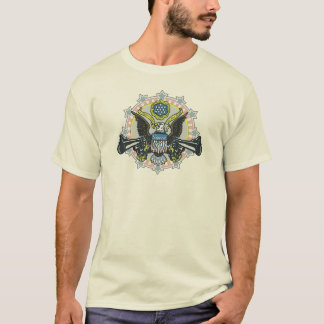 Keep and Bear Arms Gun-Toting Eagle Gear T-Shirt