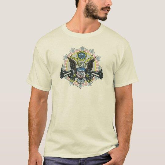 Keep and Bear Arms Gun-Toting Eagle Gear T-Shirt
