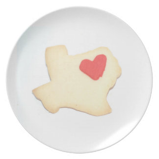 KEEP AUSTIN EATIN' TEXAS COOKIE Plate