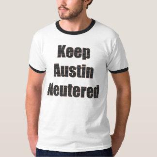 Keep Austin Neutered shirt