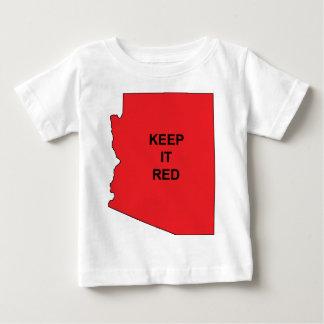 Keep AZ Red Baby T-Shirt