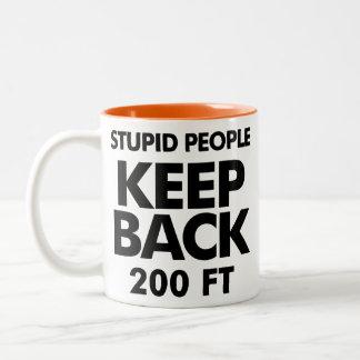 Keep Back mug
