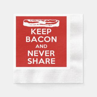 Keep Bacon and Never Share Napkin